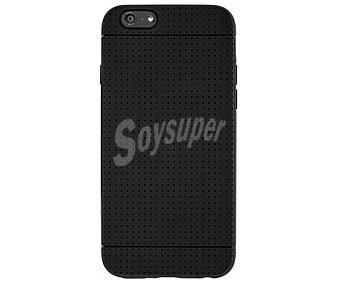 BIGBEN Carcasa trasera para iPhone 6 Negra, (teléfono no incluido) 1 unidad