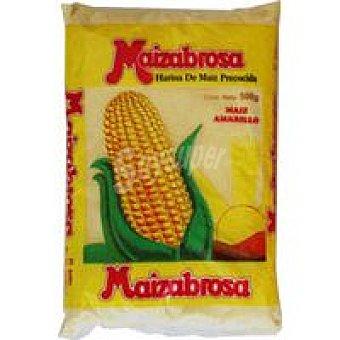 MAIZABROS Harina de maiz amarilla precocida Paquete 500 g