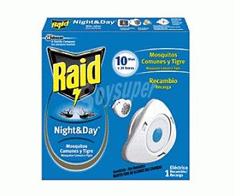 Raid Recambio Antimosquitos Aparato Eléctrico Night&Day 1 Unidad