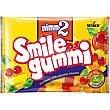 Caramelos de goma con zumo de frutas y vitaminas sabor frutas diversas Bolsa 100 g NIMM2 smile gummi