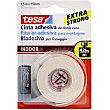 Cinta adhesiva doble cara extra strong 1,5 m x 19 mm  TESA 55740