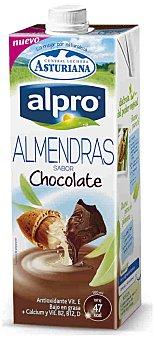 Alpro Asturiana Bebida de almendras con sabor a chocolate 1 l