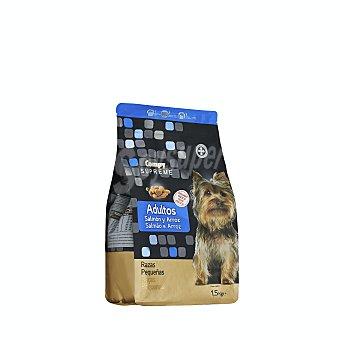 Compy Comida perro seca con salmon fresco y arroz supreme adulto razas pequeñas Paquete 1500 g