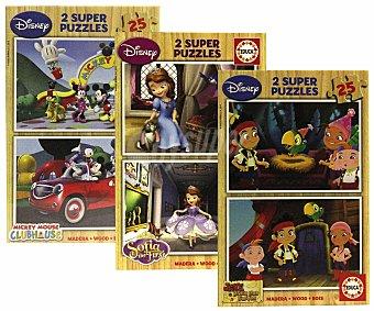 Disney Puzzles Surtidos de Madera 1 Unidad