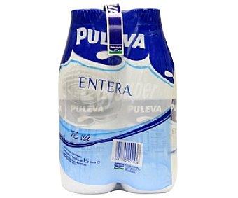 PULEVA Leche entera 4x1,5L