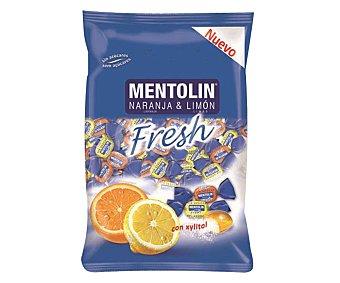 Mentolín Caramelo fresh de naranja & limón Envase 100 g