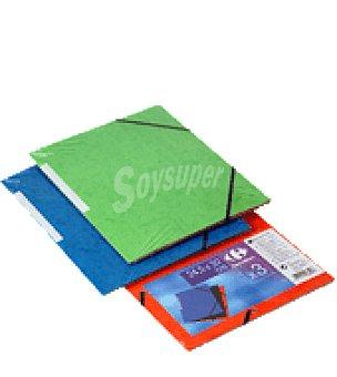 Carrefour 3 carpetas cartulina gomas carrefour