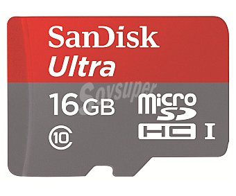 Sandisk Tarjeta de memoria Micro Ultra 1 unidad