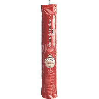 Goikoa Chorizo de Pamplona peso aproximado pieza 2 kg