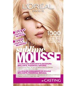 Sublime Mousse L'Oréal Paris Tinte nº 1000 1 ud