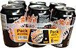 Naranja con gas light 6 latas de 330 ml Hacendado