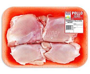 Auchan Producción Controlada Contramuslos de Pollo sin Piel Galmier 500g