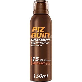 Piz buin Tan & Protect protección solar intensificadora SPF-15 Spray 150 ml