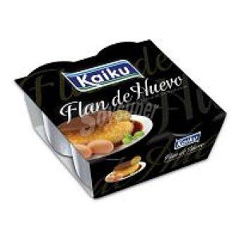 Kaiku Flan de huevo Pack 4x110 g