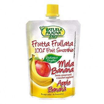 Natura nuova Preparado de manzana y plátano sin azúcar añadido ecológico Natura Nuova 100 g