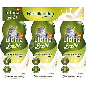 Ultima Affinity Leche para gatos y gatitos de fácil digestión Pack 3 envases 250 ml