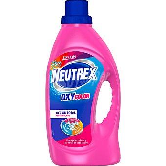 Neutrex Color quitamanchas en gel sin lejía Oxy5 botella 20 dosis Botella 20 dosis