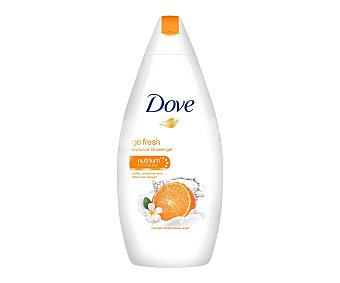 DOVE Gel de baño revitalizante mandarina Frasco de 500 ml