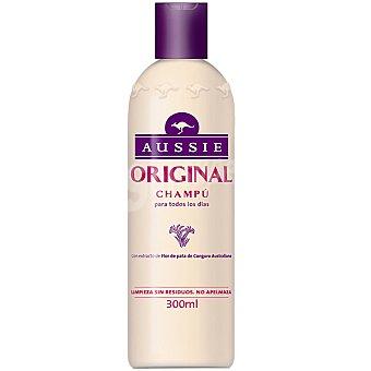 Aussie Champú Original con extracto de Flor de pata de Canguro Australiano para uso diario frasco 300 ml Frasco 300 ml