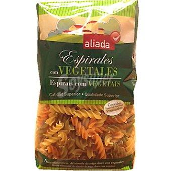 Aliada espirales con vegetales paquete 500 g