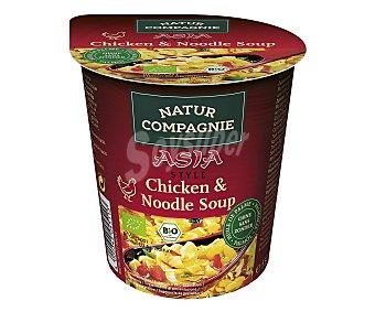 NATUR COMPAGNIE Sopa de noodle y pollo 55 gramos