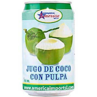 America Jugo de coco Lata 310 ml