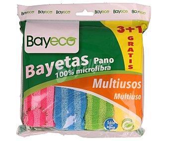 FINESTAR bayeta multiusos microfibra  paquete 3 unidades