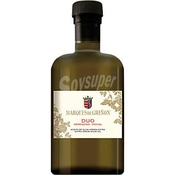 Marqués de Griñón Aceite de oliva virgen extra mezcla arbequina y picual  Botella de 500 ml