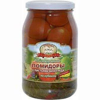 TROIKA Tpouka Gold Tomates en conserva Po Kubanski Tarro 880 g