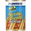 salchichas hot dogs lata 200 g neto escurrido Plumrose