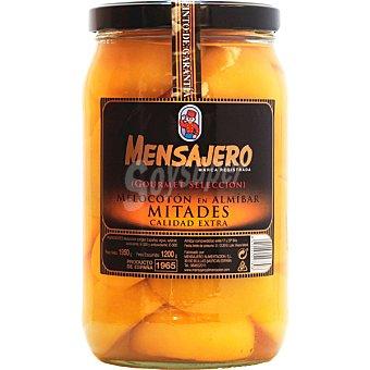 Mensajero Melocotón en almíbar frasco 1,2 kg