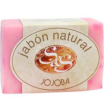 S&S Pastilla de jabón natural de Jojoba Pastilla 100 g