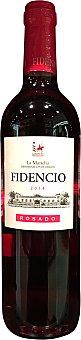 FIDENCIO Vino rosado la mancha Botella de 750 ml