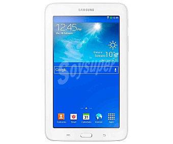 Samsung Tablets con pantalla de 7'' samsung galaxy TAB 3 Lite SM-T113 blanco, procesador: Quad Core 1.3GHz, Ram: 1GB, almacenamiento: 8GB ampliable mediante microsd, 1 Unidad
