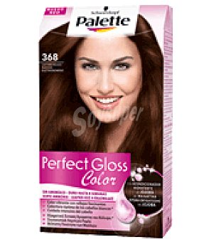 Palette Schwarzkopf Tinte Perfect Gloss Color 368 Castaño Rojizo 1 ud