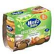 Baby recetas caseras lentejas con verduritas tarrito 2 x 190 gr Hero