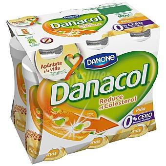 Danacol Danone Sabor piña PACK6X100 GRS