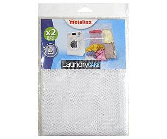 METALTEX Pack de redes de nylon para proteger ropa o calzado en la lavadora, modelo Lingette 1 Unidad