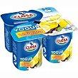 Yogur de vainilla Pack 4x125 g CLESA