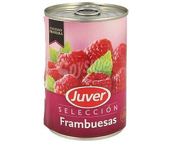 Juver Frambuesa en almíbar Lata 425 g
