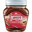 Crema de cacao con trocitos de avellana Frasco 350 g Amor