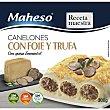 Canelones con foie y trufa 300 gr 300 gr Maheso