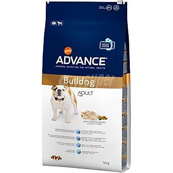 Advance Affinity Alimento para perros de + 1 año con pollo y arroz para una salud óptima Adult Bulldog Bolsa 12 kg