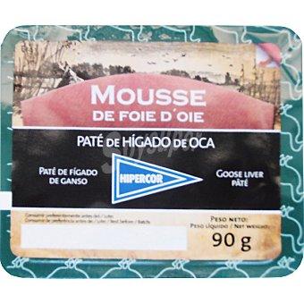 Hipercor Mousse de hígado de oca Envase 90 g