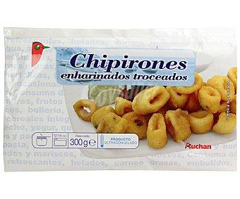 Auchan Chipirones enharinados prefritos troceados 300 gramos