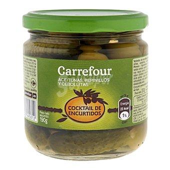 Carrefour Cocktail de encurtidos 190 g