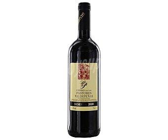 Valdepeñas Vino tinto reserva con denomiación de origen cerro DE LOS pastores Botella de 75 cl