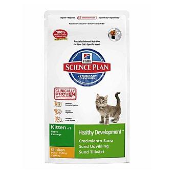 HILL'S SCIENCE PLAN KITTEN Alimento especial para un crecimiento sano de gatitos menores de 1 año con pollo Bolsa 2 kg
