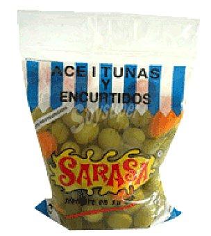 Sarasa Aceituna verde especial anchoa 400 g