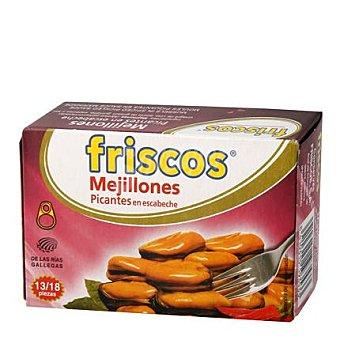 Friscos Mejillones picantes en escabeche 13/18 piezas 111 g